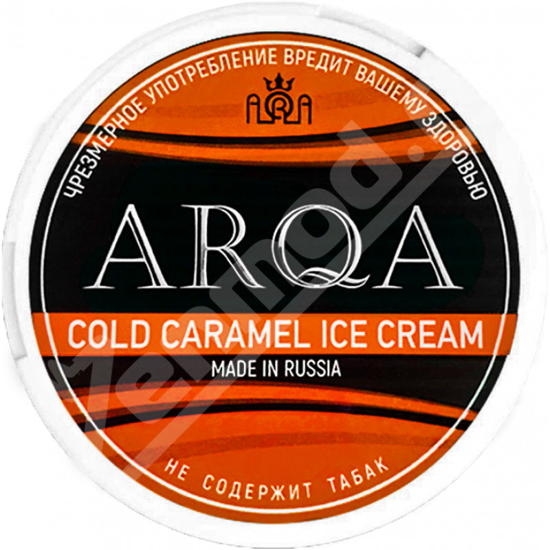 Жеват. ARQA - Cold Caramel Ice Cream 65мг