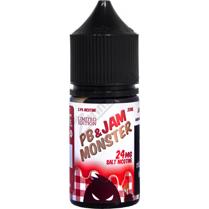 Jam Monster SALT - PB and Strawberry 30мл